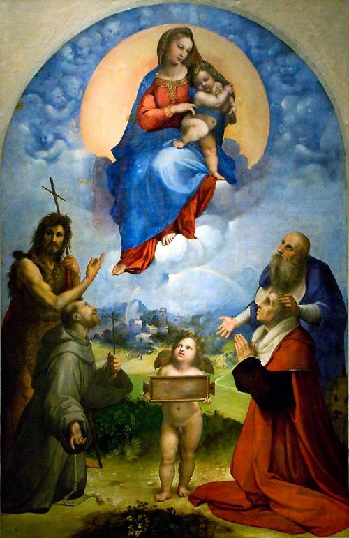 Raffael: Madonna di Foligno