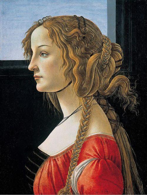 Portrait der Simonetta