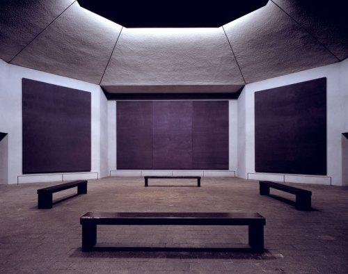 Innenansicht der Rothko Kapelle