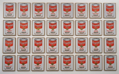"""Campbell's Soup Cans"" Museum of Modern Art"